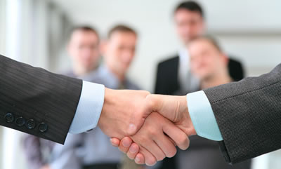 Shaking Hands - Welcome to the Team